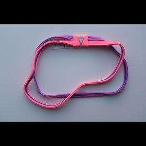girls purple and pink ivivva headband